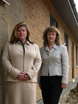 Paula Finch and Barbara Spiller